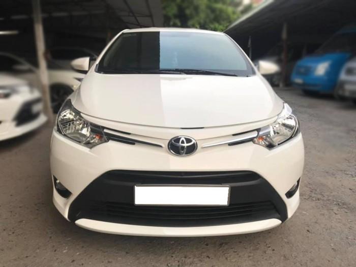 Cần bán xe Vios 2017 đăng ký 2018 bản E, số tự động, màu trắng 6