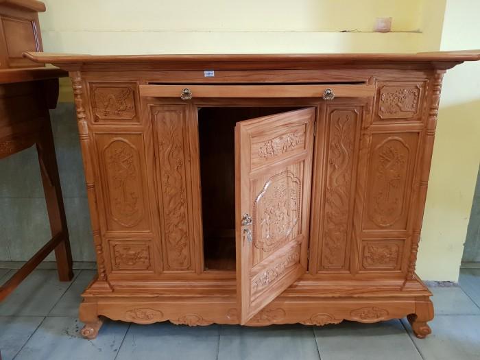Tủ thờ Tam Đa lắp ráp Gõ Đỏ sang trong Đồ gỗ Sơn Đông3