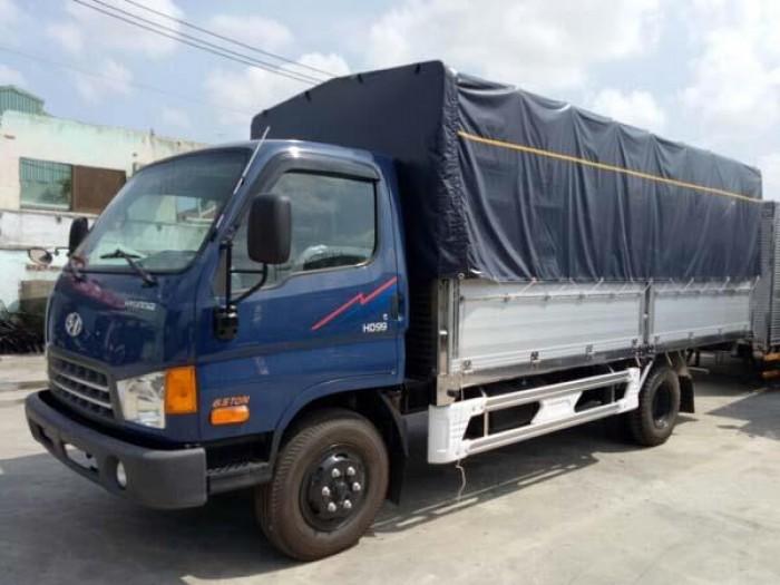Hyundai 2.3t thùng bạt N250 thùng 3m5 trả trước 80tr nhận xe 0
