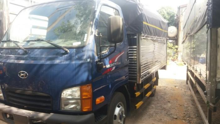 Hyundai 2.3t thùng bạt N250 thùng 3m5 trả trước 80tr nhận xe 3