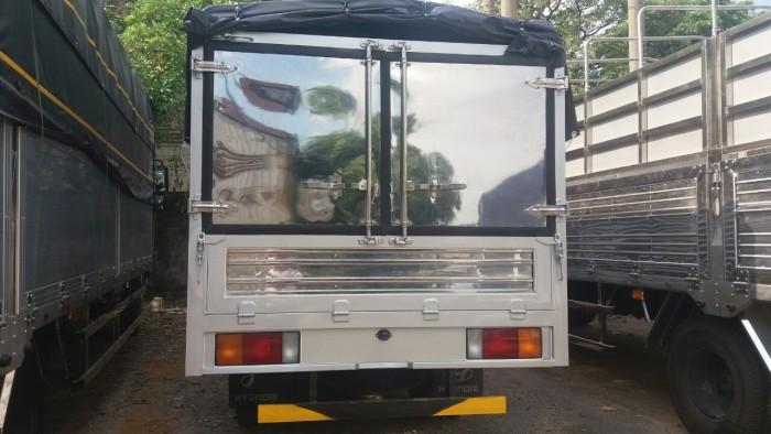 Hyundai 2.3t thùng bạt N250 thùng 3m5 trả trước 80tr nhận xe 1
