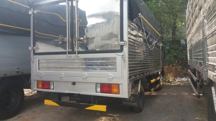 Hyundai 2.3t thùng bạt N250 thùng 3m5 trả trước 80tr nhận xe 2