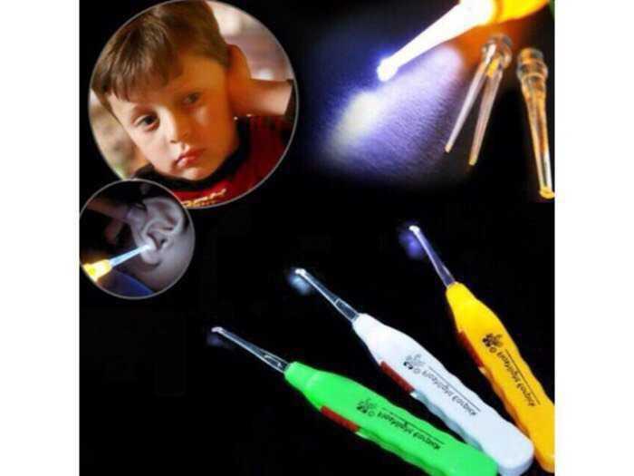 Dụng cụ Lấy Ráy Tai có đèn loại hộp