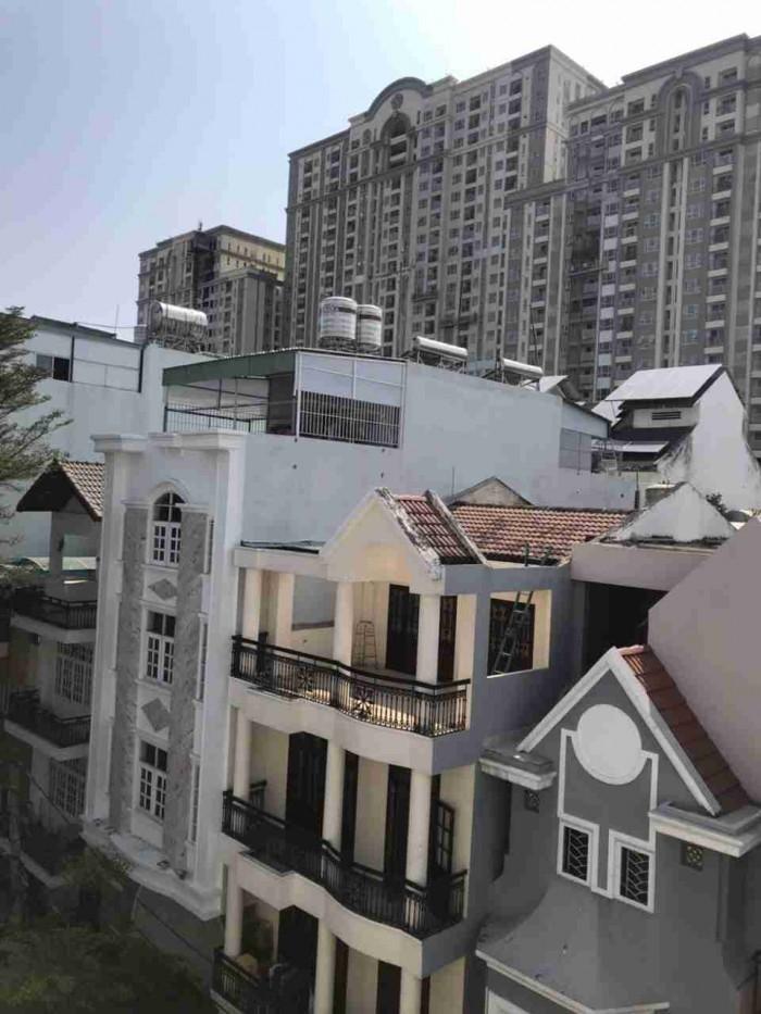Bán khách sạn trung sơn, 1 trệt, 5 lầu, sân thượng, 28 phòng