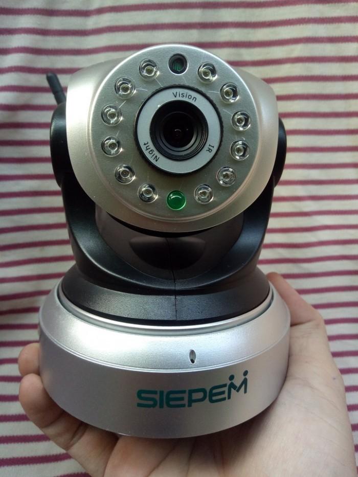 Smart Camera IP Wifi 1.3M Siepem S2018 P2PwifiCam | Camera giám sát kết nối wifi5