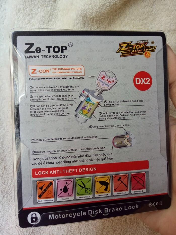 Khóa đĩa xe máy Z-Con   Khóa chống trộm xe máy