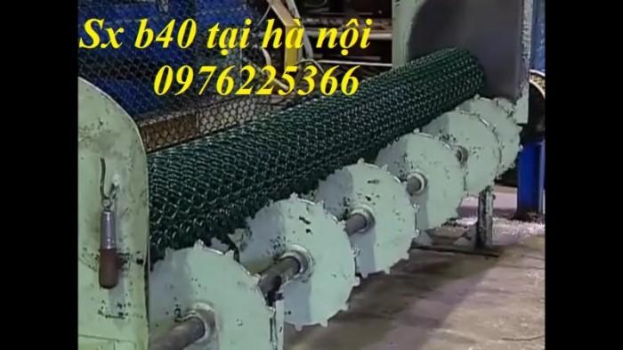 Sản xuất lưới B40 bọc nhựa1