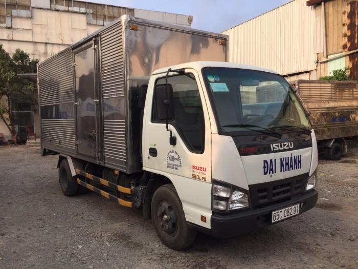 Isuzu qkr 2016 2 tấn thùng kín cũ