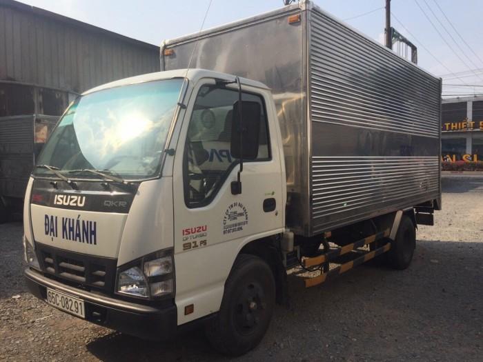 Isuzu qkr 2016 2 tấn thùng kín cũ 5
