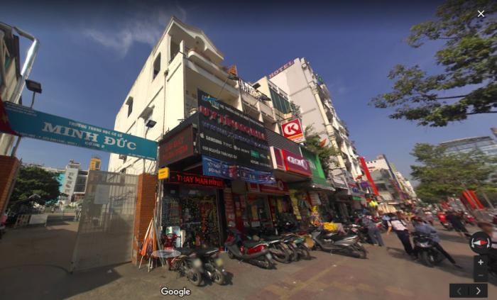 Cho thuê nhà 4x12m MT Nguyễn Thái Học , P.Cầu Ông Lãnh , Q1