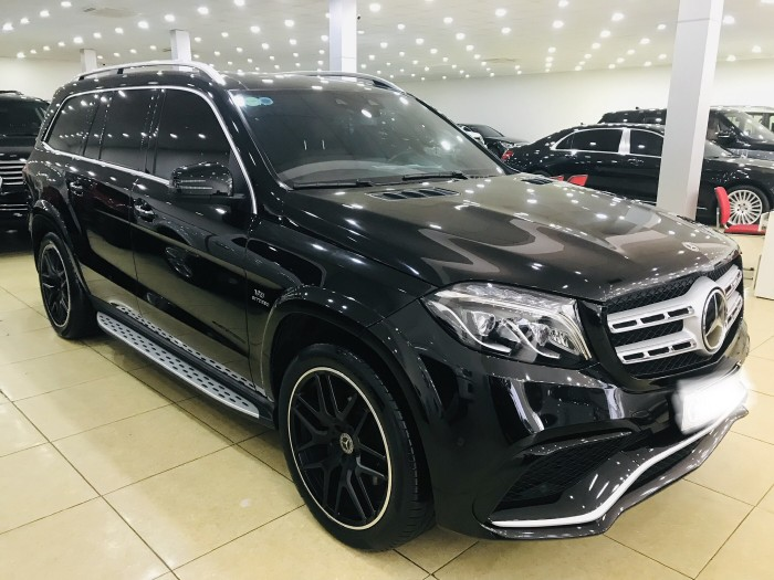 Bán Mercedes GLS 400 đã lên fom GLS 63,màu đen,sản xuất và đăng ký 2017,biển Hà Nội