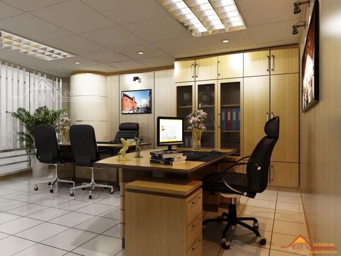 Cần cho thuê văn phòng ngay đường Phạm  Văn Đồng p11 Bình Thạnh DT 50m2