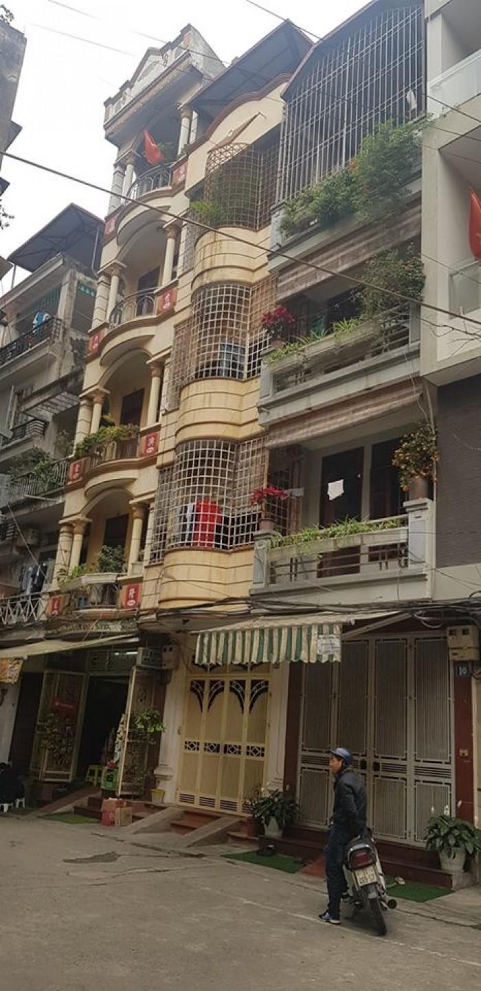 Bán nhà mặt ngõ tiện kinh doanh tại Nguyên Hồng,dt45m2x5 tầng
