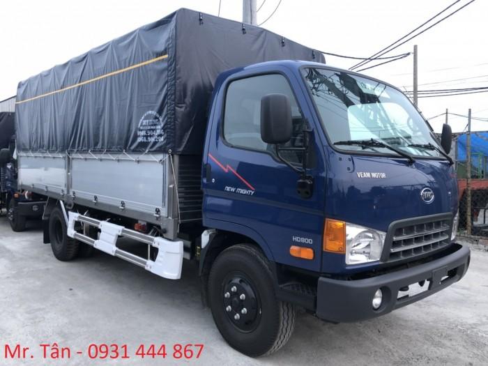 Xe tải Hyundai HD800 tải trọng 8 tấn, thùng dài 5m1, hỗ trợ trả góp đến 85% giá trị xe, lãi suất thấp