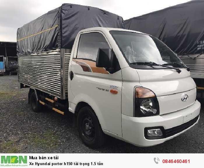 Xe Hyundai porter h150 tải trọng 1.5 tấn
