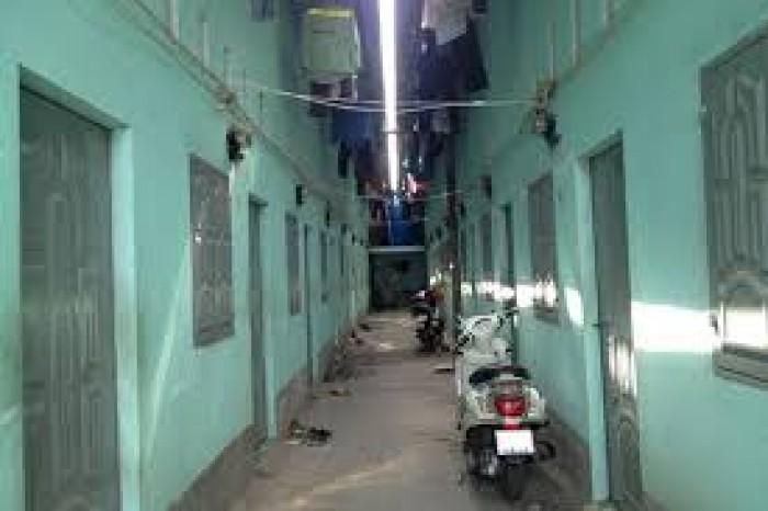 Bán dãy nhà trọ 268m2 (ngang 10.5m) 22 phòng nằm đường nguyễn Cư Trinh, Quận 9.