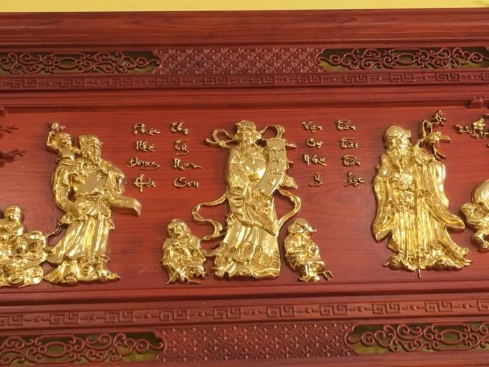 Tranh gỗ giáp vàng2