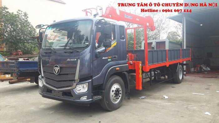 Xe tải 2 Chân 9 tấn Thaco AUMAN C160 Euro4 gắn câu Kanglim KS1056 ( 5 tấn 6 đốt )|Trả trước từ 300tr giao xe ngay
