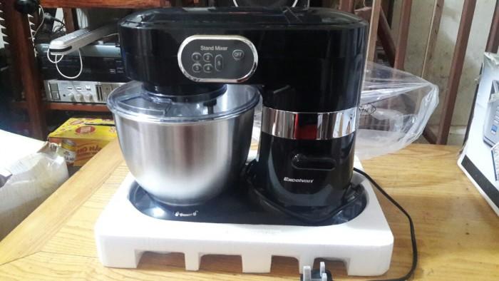 Máy đánh trứng và trộn bột để bàn stand mixer excelvan chất lượng amazone mỹ, giá việt.6