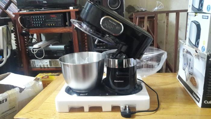 Máy đánh trứng và trộn bột để bàn stand mixer excelvan chất lượng amazone mỹ, giá việt.1