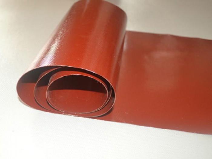 vải silicone cốt thuỷ tinh màu đỏ2