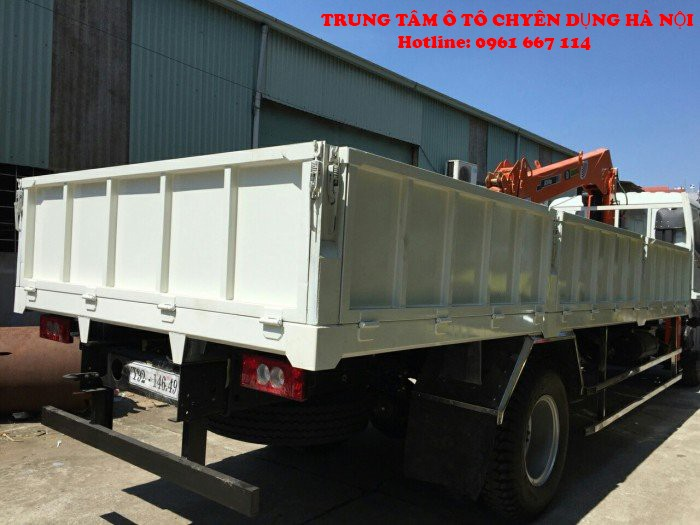 Xe tải 9 tấn Thaco AUMAN C160.C170 gắn câu SANGDO  model SC514ML ( 5 tấn 4 đốt)  Trả trước từ 200tr giao xe ngay