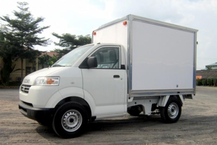 Xe Tải Suzuki Carry Pro 580KG - 490kg - Thùng Kín - Trả góp, vay 80% thủ tục nhanh, giao xe ngay. 3
