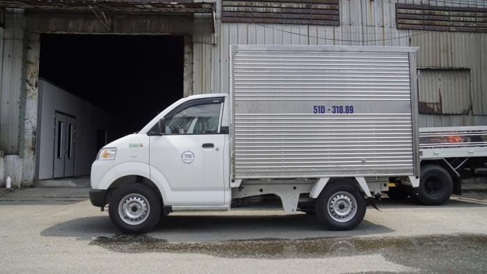 Xe Tải Suzuki Carry Pro 580KG - 490kg - Thùng Kín - Trả góp, vay 80% thủ tục nhanh, giao xe ngay. 0