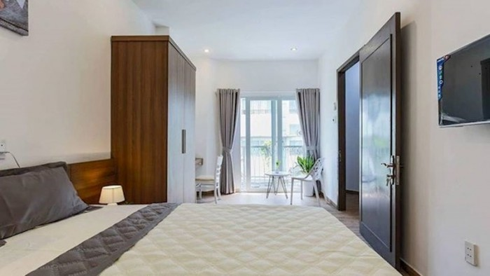 Cho thuê căn hộ tiện nghi đường đồng nai, tân bình DT50m
