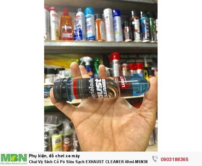 Chai Vệ Sinh Cổ Pô Siêu Sạch EXHAUST CLEANER 40ml-MSN388400