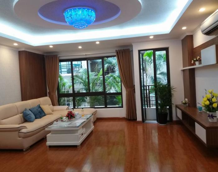 Nhà mới Trần Quốc Hoàn, Cầu Giấy. 60m2x5 tầng, gara ô tô