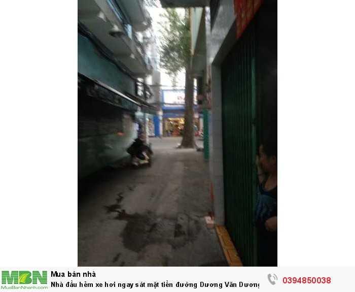 Nhà đầu hẻm xe hơi ngay sát mặt tiền đường Dương Văn Dương, Tân Phú