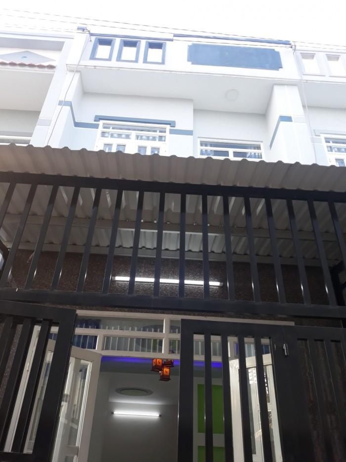 Nhà chợ Đại Hải, Phan Văn Hớn, Hóc Môn 4x12, đúc 1 tấm 2PN
