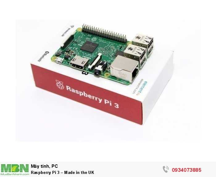 Raspberry Pi 3 – Made in the UK2