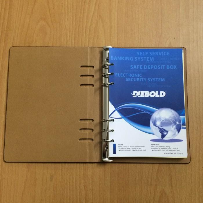 Brandde chuyên cung cấp sổ da in ấn logo thương hiệu công ty - Quà tặng tri ân giá rẻ0