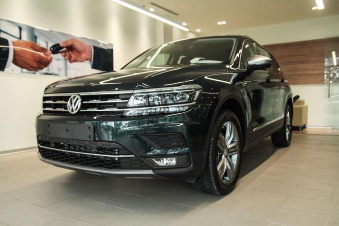 Xe Volkswagen Tiguan Allspace 7 chỗ, nhập khẩu chính hãng mới 100%