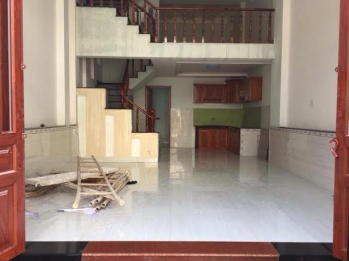 Bán nhà 1 trệt 1 lửng đường Hậu Giang