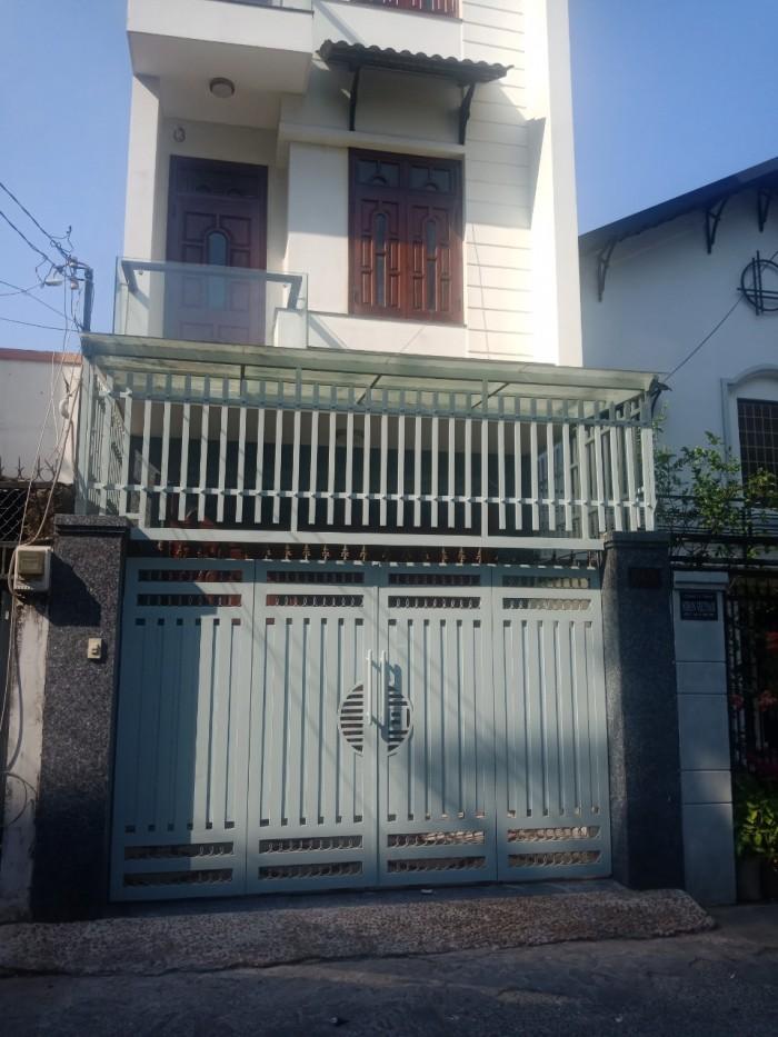 Bán nhà Phan Văn Trị, 8x12, nở hậu 8.2m