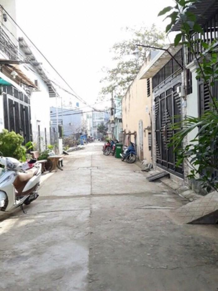 32/Lê Thị Hà 4x10 1 lầu đường nhựa 4m thông SHCC
