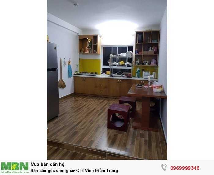 Bán căn góc chung cư CT6 Vĩnh Điềm Trung