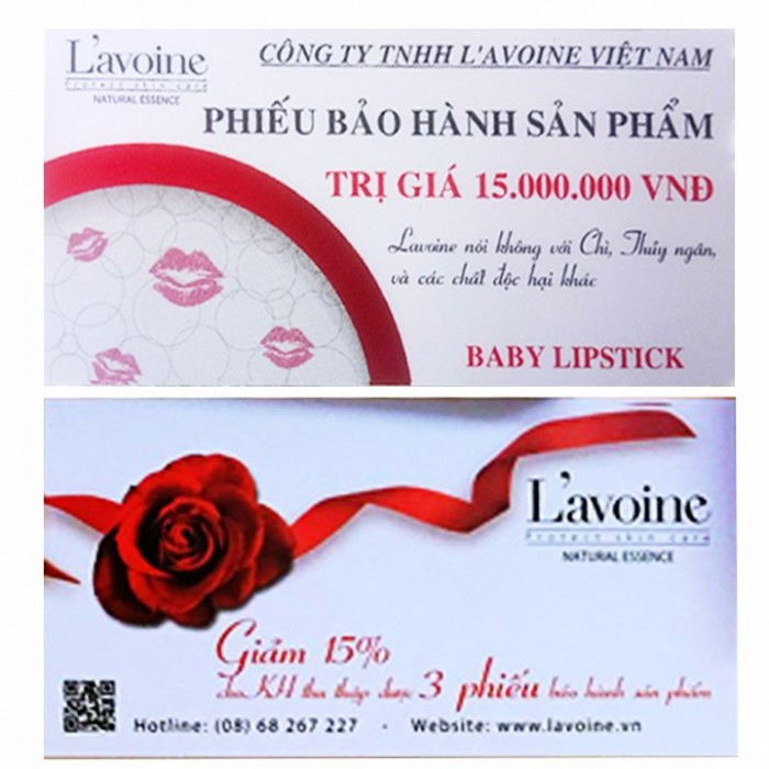 Son môi Baby lipstick L'avoine