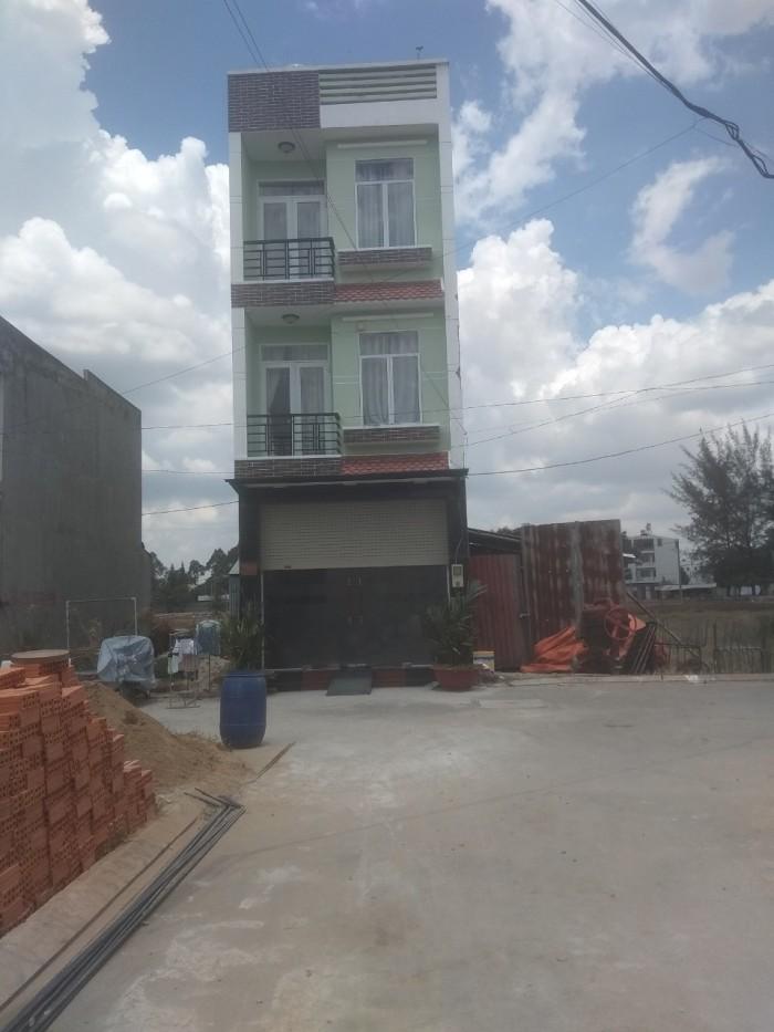 Bán nhà 1 trệt, 3 tấm dự án Nam Khang, Lã Xuân Oai, Long Trường, Quận 9