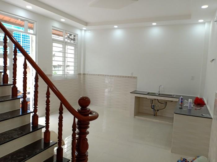 Bán nhà sổ hồng riêng đường ĐHT 17 phường Đông Hưng Thuận, Q12 đúc một trệt, một lầu