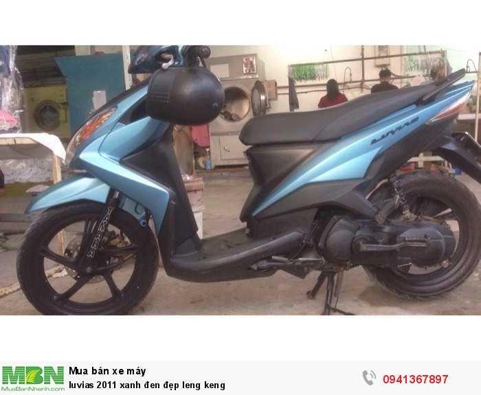Luvias 2011 xanh đen đẹp leng keng