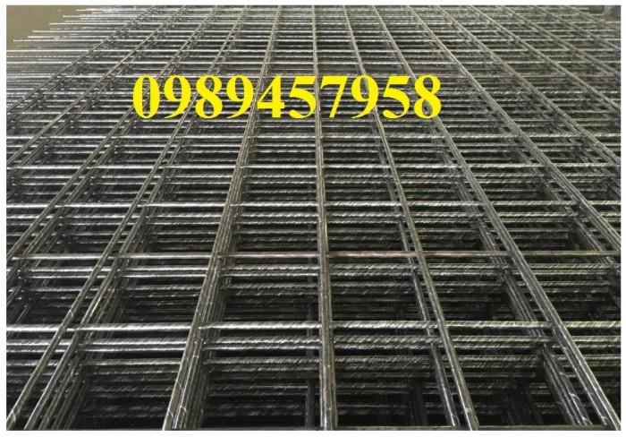 Lưới hàn chập phi 8 ô 200x200, 250x250, Thép A8 200*200 giá tốt2