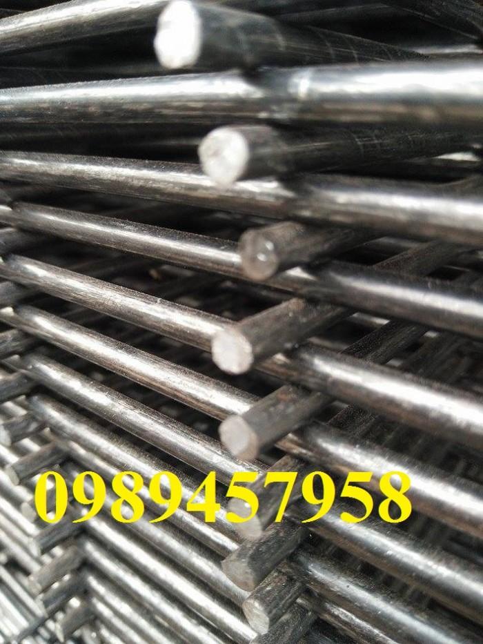 Lưới hàn chập phi 8 ô 200x200, 250x250, Thép A8 200*200 giá tốt1