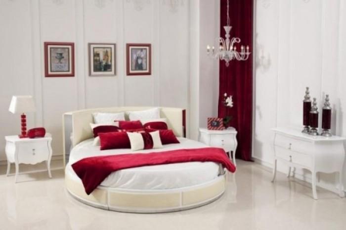 Phòng ngủ cá tính ấn tượng với giường tròn đẹp giá rẻ1