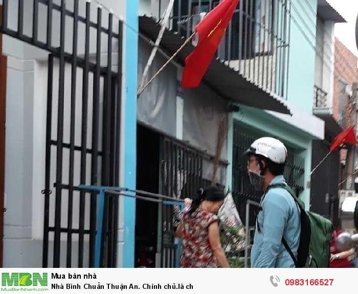 Nhà Bình Chuẩn Thuận An. Chính chủ