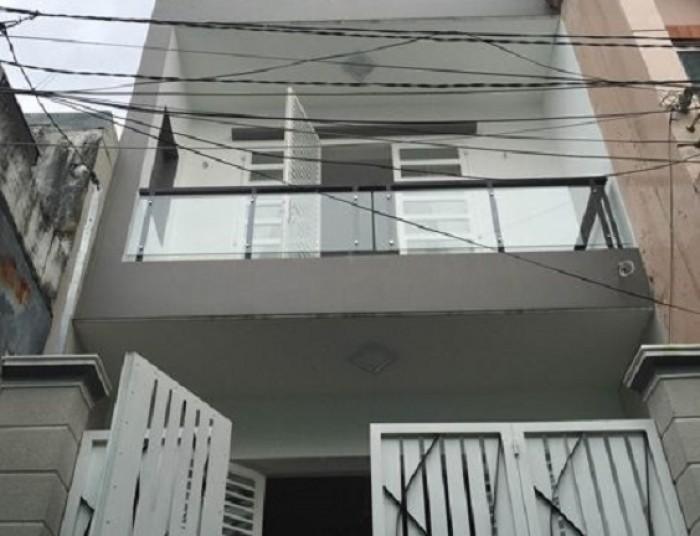 Bán nhà (4x17)1 lầu mới đẹp KDC Bình phú 1,Q6