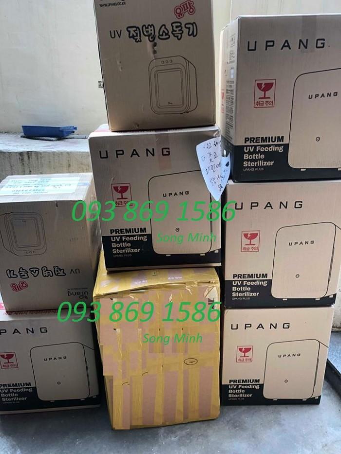 Thanh lý máy tiệt trùng Upang Hàn Quốc, tiệt trùng bình sữa đa năng tia UV Song Minh